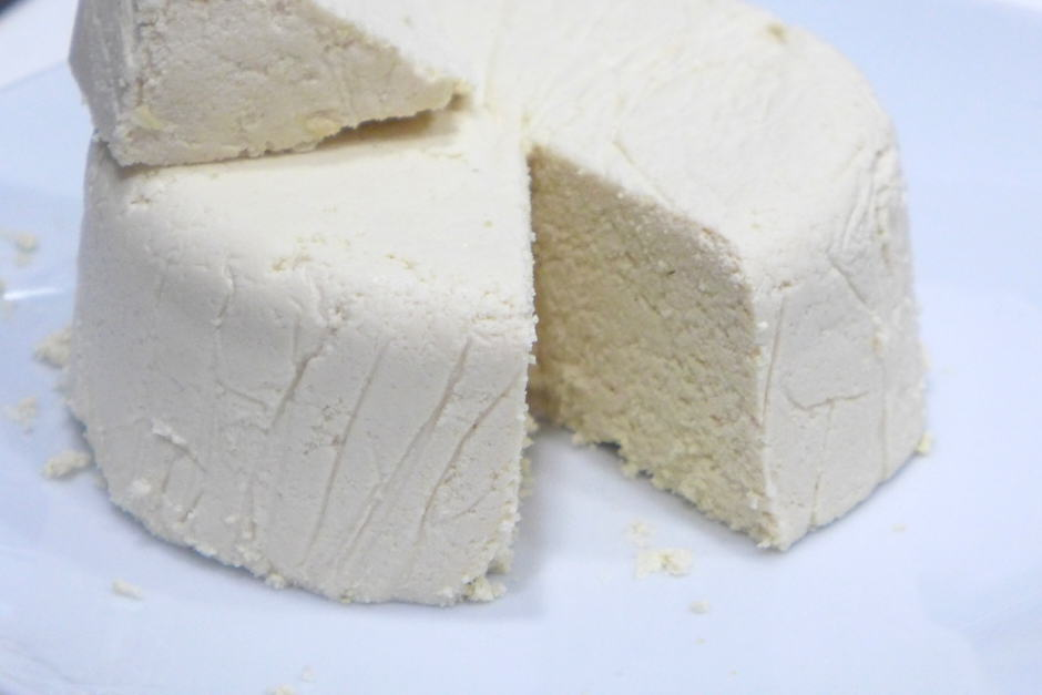 Queso fresco latino vegano